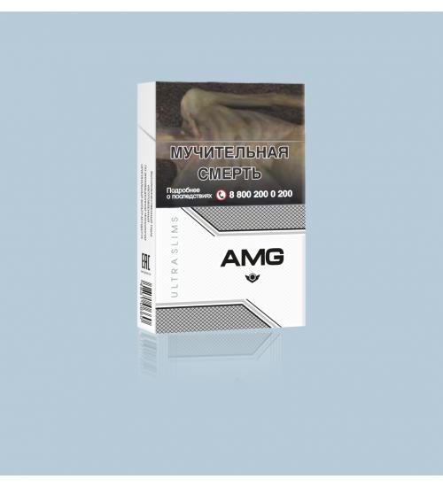"Cigarettes ""AMG Ultra Slims White''"