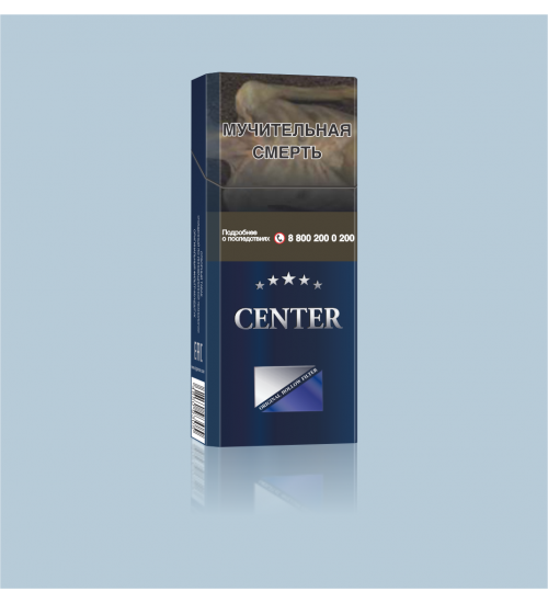 "Cigarettes ""Center Super Slims blue''"