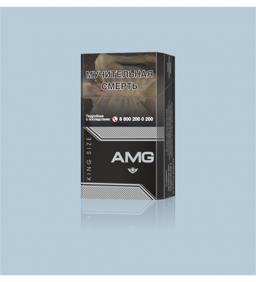 "Cigarettes ""AMG Кing Size 84mm Black''"