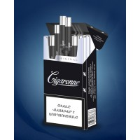 "Сигареты ""Cigaronne King Size Black"""